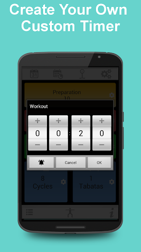 Tabata Timer for HIIT screenshot 2
