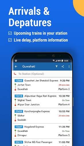 Where is my Train : Indian Railway Train Status screenshot 6