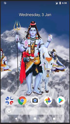 4D Shiva Live Wallpaper 9 تصوير الشاشة