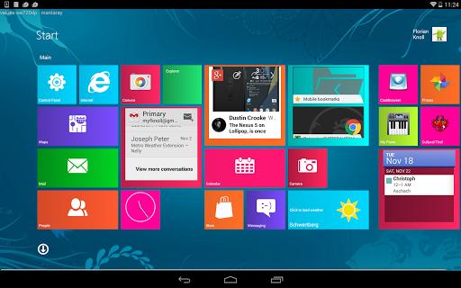 Metro UI Launcher 10 screenshot 6