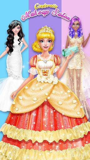 💄👗Cinderella Fashion Salon - Makeup & Dress Up 4 تصوير الشاشة
