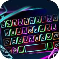 RGB Neon HD Keyboard Background on APKTom