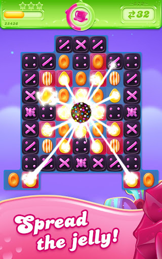 Candy Crush Jelly Saga 17 تصوير الشاشة