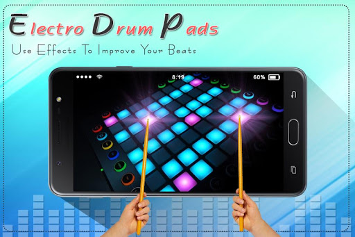 Electro Music Drum Pads: Real Drums Music Game screenshot 2