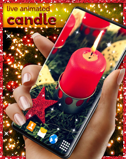Candle Light Live Wallpaper 🕯️ Candles Wallpapers screenshot 5