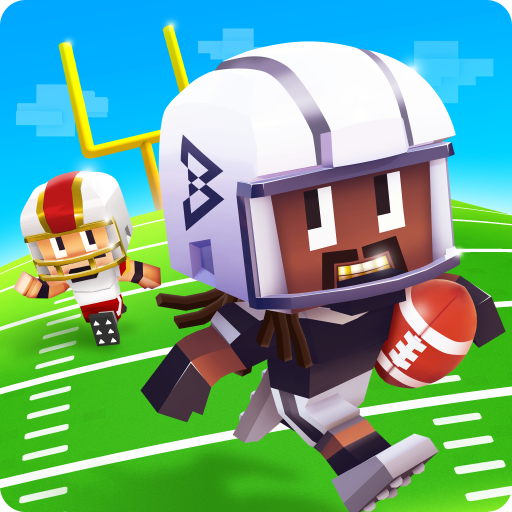 Marshawn Lynch Blocky Football icon