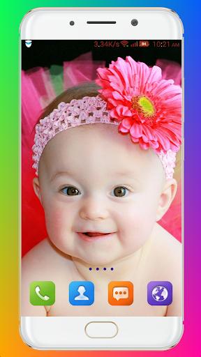 Cute Baby Wallpaper screenshot 4