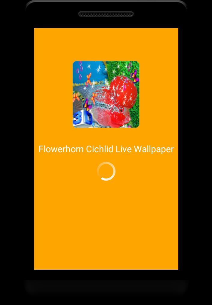Flowerhorn Fish Special Live Wallpaper 1 تصوير الشاشة