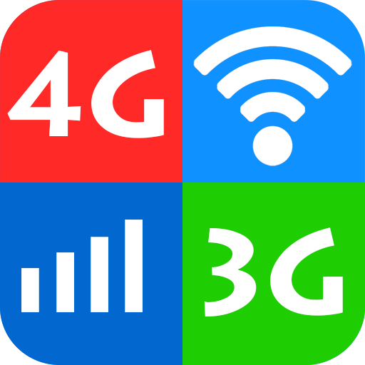 WiFi, 5G, 4G, 3G Speed Test -Speed Check - Cleaner icon