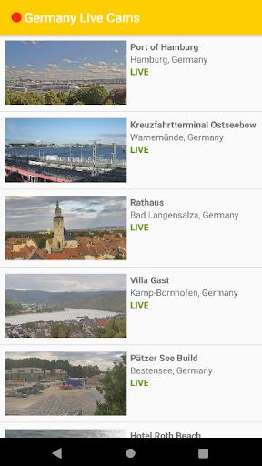 Germany Live Cams 2 تصوير الشاشة
