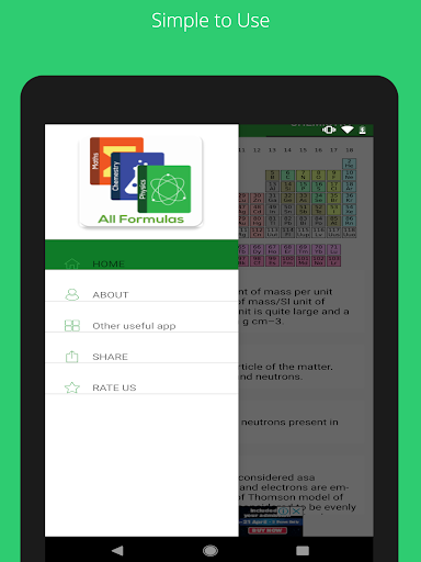 All Formulas - Math, Physics & Chemistry 7 تصوير الشاشة