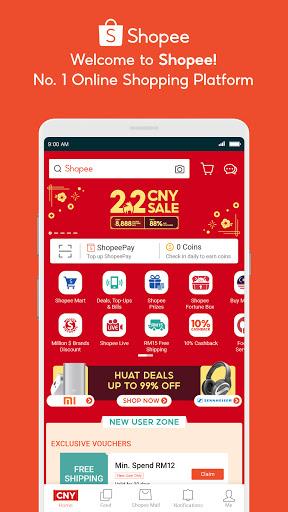 Shopee 2.2 CNY Sale скриншот 1