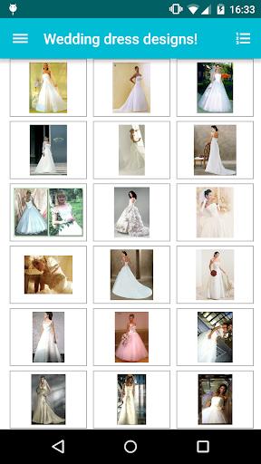 Wedding dress designs! screenshot 2