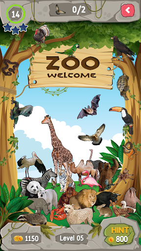 حديقة الحيوان الاشياء مخفية 4 تصوير الشاشة