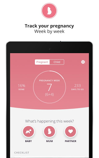 Pregnancy & Baby Tracker Free: Preglife screenshot 9