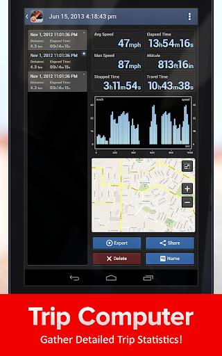 Speed Tracker. GPS Speedometer and Trip Computer screenshot 9