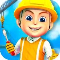 Membangun kota Permainan anak on 9Apps