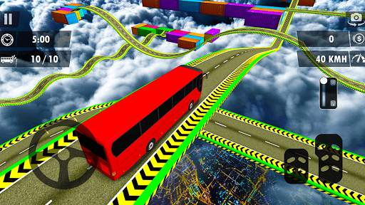 Impossible Bus Stunt Driving Game: Bus Stunt 3D screenshot 1