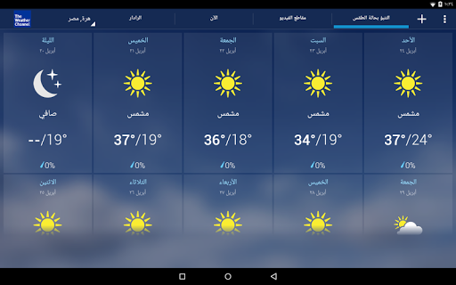 التنبؤات الجوية: The Weather Channel 10 تصوير الشاشة