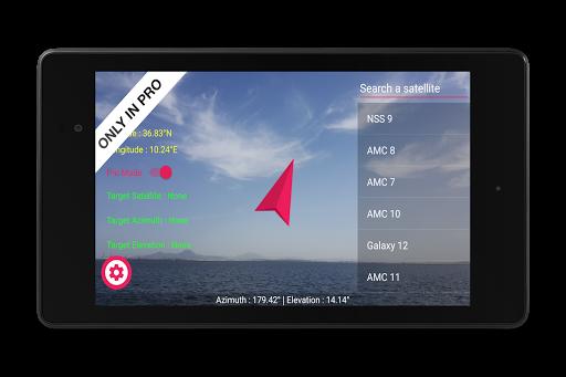 Satellite Pointer स्क्रीनशॉट 12