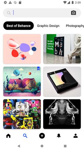 Behance: Photography, Graphic Design, Illustration 2 تصوير الشاشة