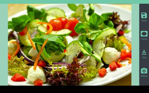 Food photo frames screenshot 8