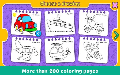 Coloring & Learn screenshot 4