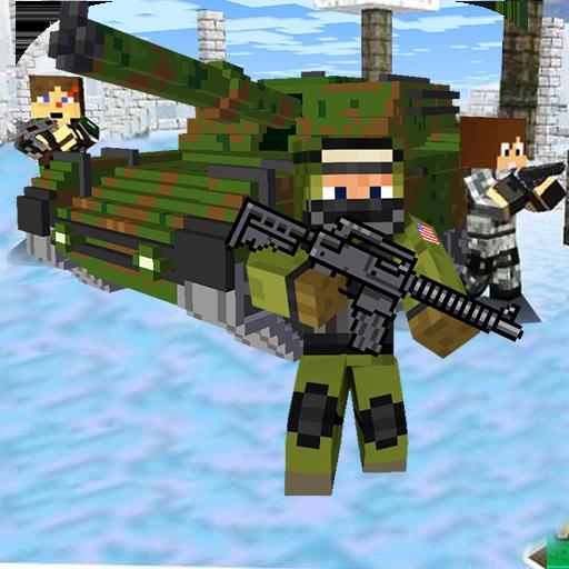 Cube Wars Battle Survival أيقونة