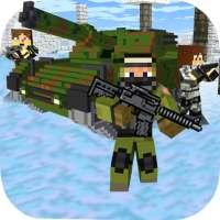 Cube Wars Battle Survival on 9Apps