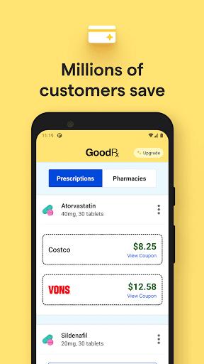 GoodRx: Prescription Drugs Discounts & Coupons App 5 تصوير الشاشة