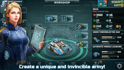 Art of War 3: PvP RTS modern warfare strategy game screenshot 5