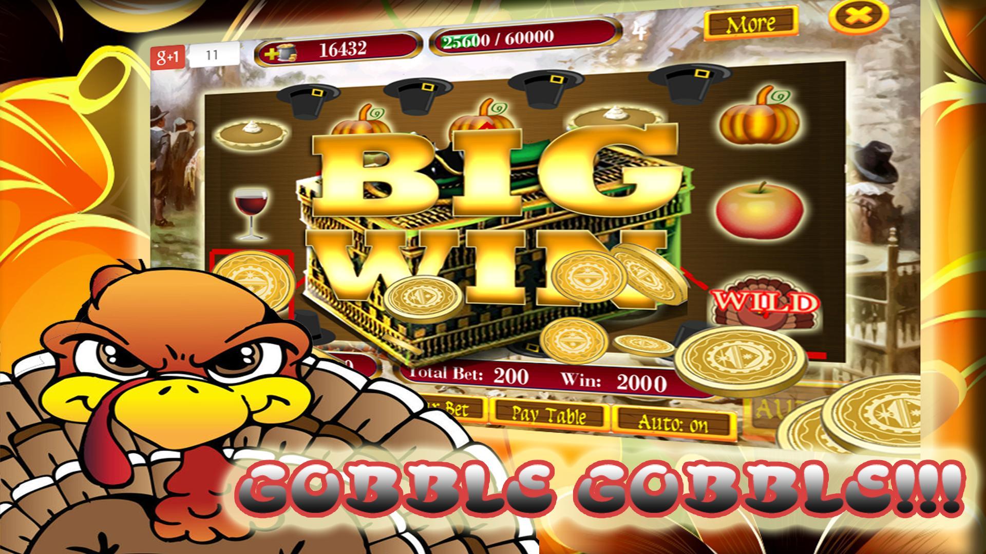 Thanksgiving Slots 1 تصوير الشاشة