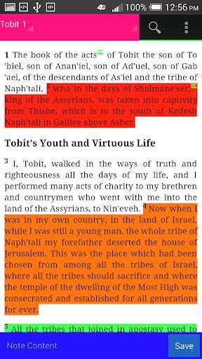 ROMAN CATHOLIC BIBLE 2 تصوير الشاشة
