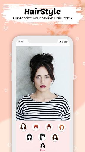 You face Makeup photo editor screenshot 3