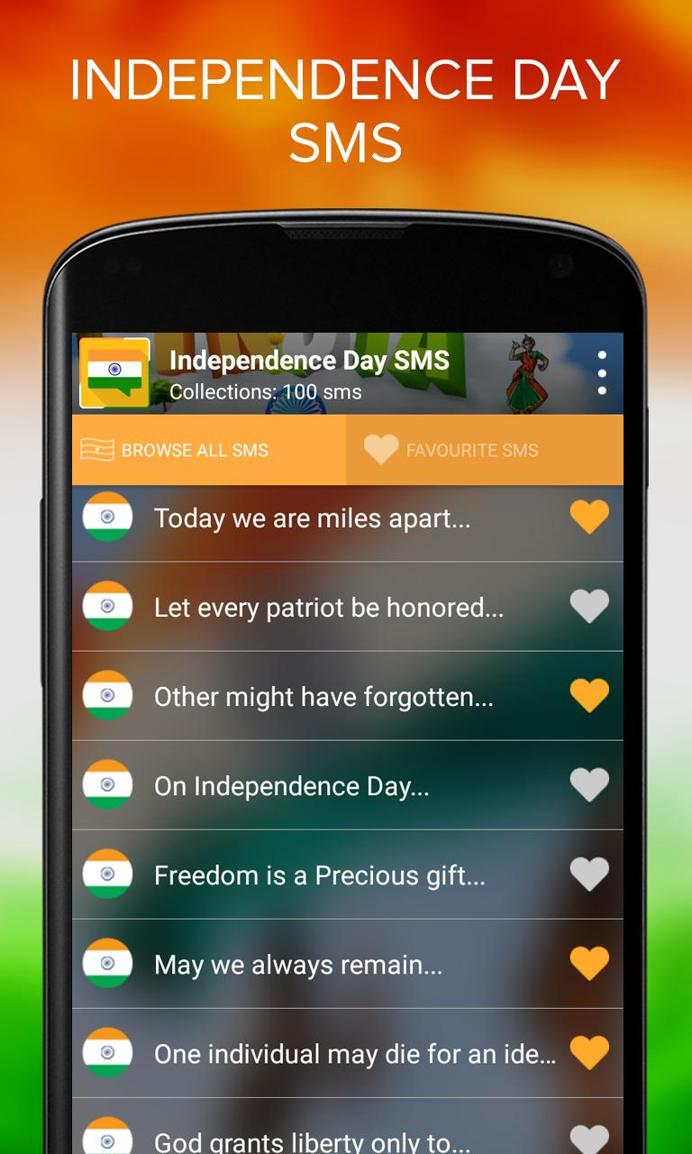 Independence Day SMS - 15 August screenshot 2