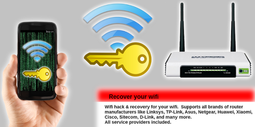 Wifi password recovery screenshot 3