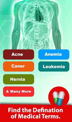 قاموس طبي (كلمة مكتشف) 3 تصوير الشاشة