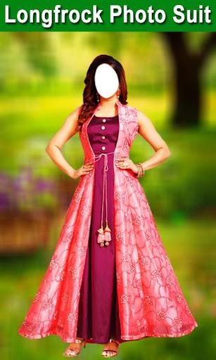 Longfrock Photo Suit for girls : Women long dress screenshot 1