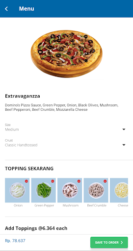 Domino's Pizza Indonesia - Home Delivery Expert screenshot 7