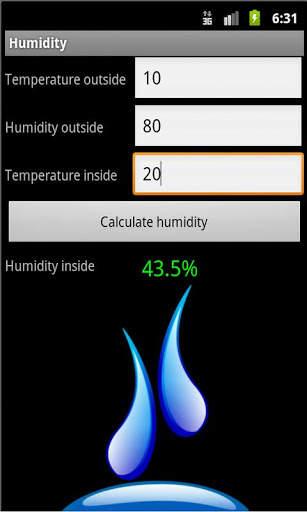 Humidity screenshot 1