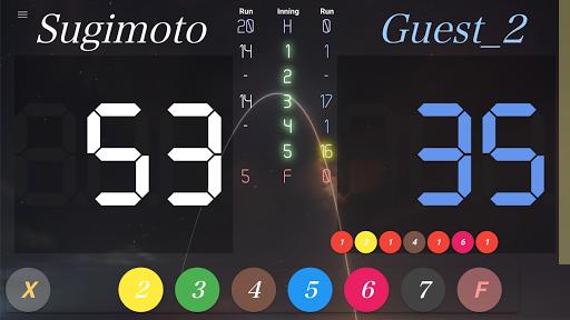 neon cue sports score board screenshot 4