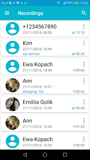 Call Recorder screenshot 2
