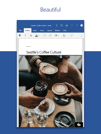 Microsoft Word: Write, Edit & Share Docs on the Go 6 تصوير الشاشة
