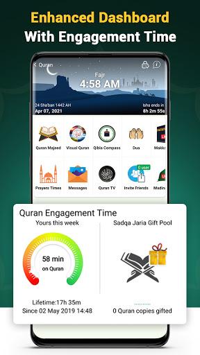Quran Majeed – القران الكريم: Prayer Times & Athan screenshot 4