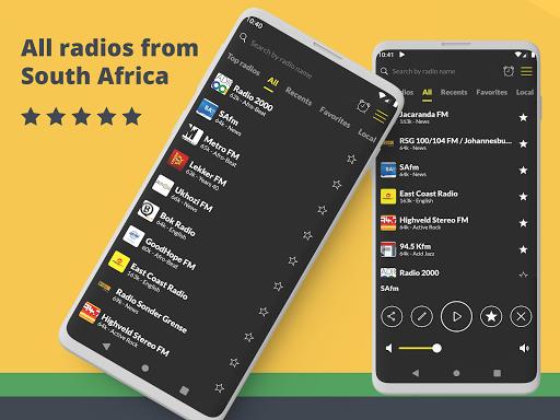 Radio South Africa: Radio FM Free, Free Radio App screenshot 1