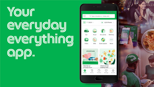 Grab - Transport, Food Delivery, Payments screenshot 1