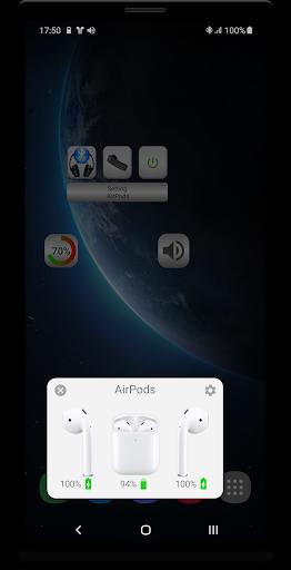 Bluetooth Music  Widget Battery TWS Pods FREE 2 تصوير الشاشة