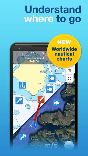 Fishing Points: GPS, Tides & Fishing Forecast 3 تصوير الشاشة