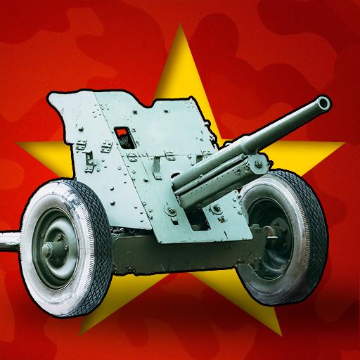 Artillery Guns Arena sniper Defend & Destroy Tanks أيقونة