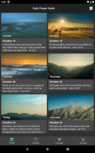 Daily Prayer Guide screenshot 10